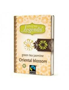 Legends Oriental Blossom teeraamat - roheline tee jasmiiniga 2g