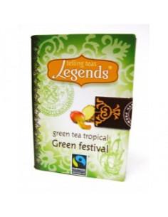 Legends Green Festival teeraamat - roheline tee troopiliste viljadega 2g