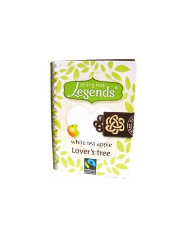 Legends Lover`s Tree teeraamat - valge tee õunaga 2g