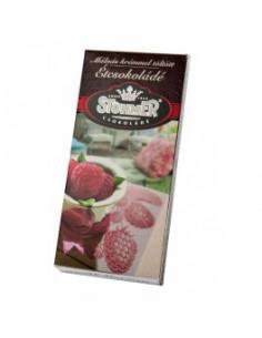 Stühmer tume šokolaad vaarikakreemi täidisega100g