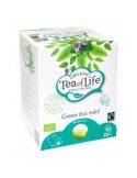 Bradley`s Organic Fair Trade roheline tee