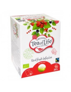 Tea of Life Organic Fair Trade punaste viljade tee