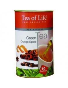 Tea of Life roheline tee