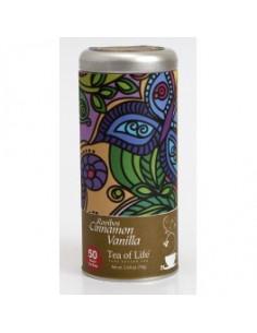 Tea of Life a new age tea teepadjad - rooibose tee kaneeli ja vaniljega