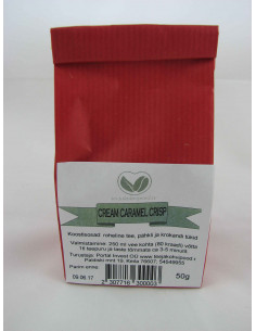 """Cream Caramel Crisp"" roheline purutee 50 g"