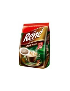 Cafe Rene Creme Dark Roast kohvipadjad 36*7g