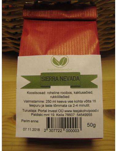 """Sierra Nevada"" rohelise rooibosi purutee 50 g"