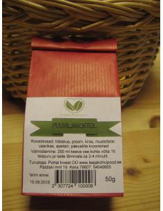 """Puuviljakokteil"" taimne purutee 50 g"