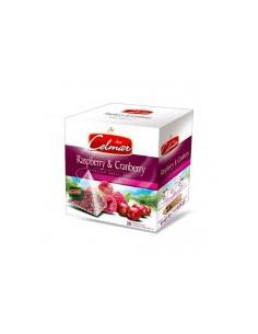 Celmar Rasberry & Cranberry - Punane tee vaarika ja jõhvikaga 20 x 2g