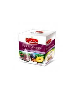 Celmar Plum & Cinnamon - Punane tee ploomi ja kaneeliga 20x2 g