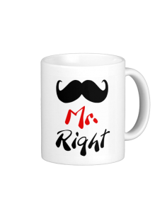 Mr. Right fototass