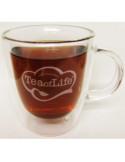 Tea of Life klaasist teetass