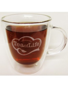 Tea of Life klaasist teetass