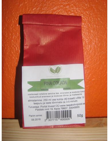 """""""Pina Colada"""" roheline sencha purutee 50 g"""