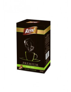 Cafe Rene Creme - Premium Peru Bio kohvioad 250g