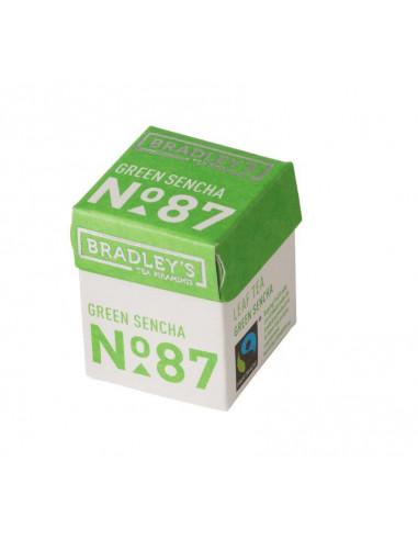 Bradley`s Pyramid Mini roheline Sencha tee 2g