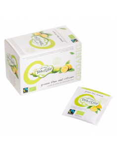 Tea of Life Organic Fair Trade Roheline tee sidruniga 20*1,75g