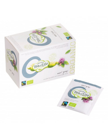 Tea of Life Organic Fair Trade must tee bergamontiga