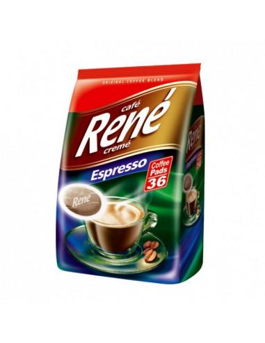 Cafe Rene Creme Espresso kohvipadjad 36*7g