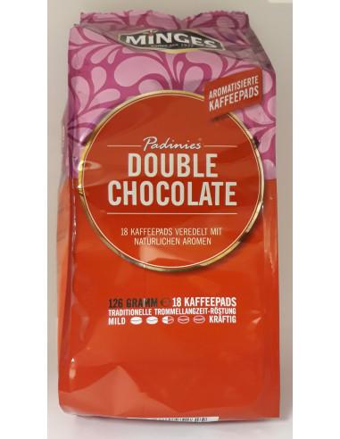 Padinies Double Chocolate aromatiseeritud kohvipadjad 18*7g