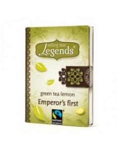 Legends Emperor`s first teeraamat - roheline tee sidruniga 2g